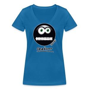 Gezähmt - Frauen Bio-T-Shirt mit V-Ausschnitt von Stanley & Stella