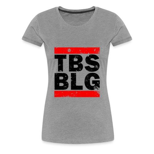 Tobis Blog Girl Premium - Frauen Premium T-Shirt