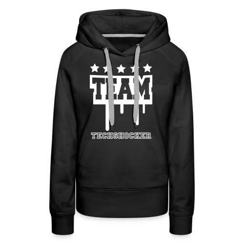 NEW! Team TechShocker Hoodie (Producer Back) **WOMANS** - Women's Premium Hoodie