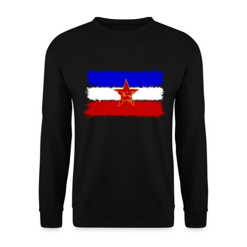 Jugoslawien Flagge (Herren) - Männer Pullover