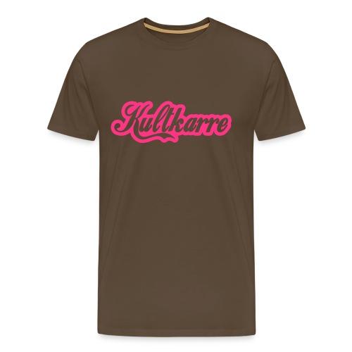 KULTKARRE T-SHIRT for MAN  - Männer Premium T-Shirt