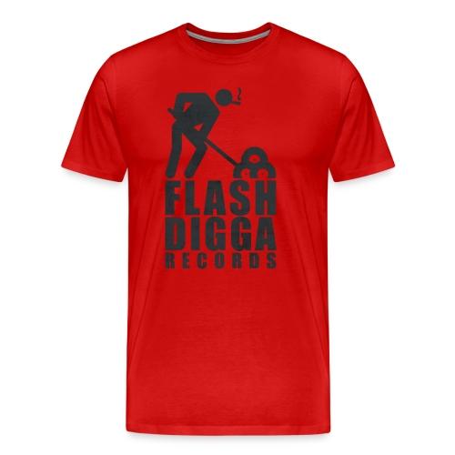 Flashdigga Shirt Rot/Schwarz - Männer Premium T-Shirt