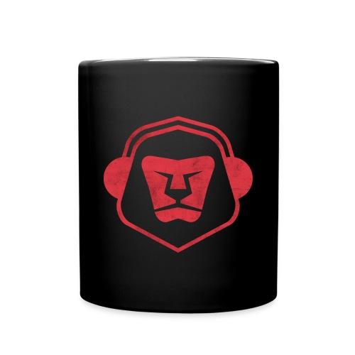 WTK Tasse Rot/Schwarz - Tasse einfarbig