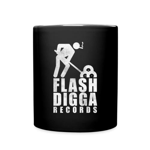 Flashdigga Tasse Weiss/Schwarz - Tasse einfarbig