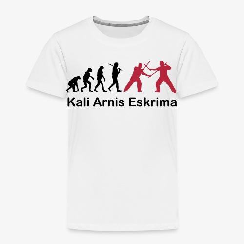 Kali Arnis Eskrima Evolution Kids - Kinder Premium T-Shirt