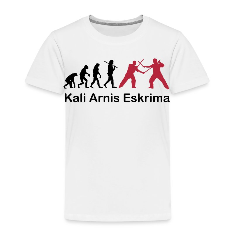 Kali Arnis Eskrima Evolution Kids - Kinder Premium T-Shirt