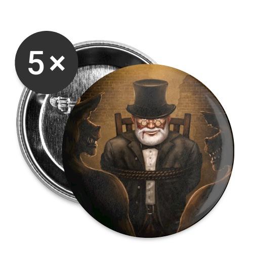 Krokk der Kutscher - Buttons - Buttons mittel 32 mm