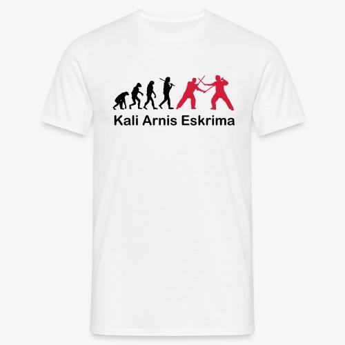 Kali Arnis Eskrima Evolution - Männer T-Shirt