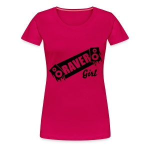 Raver Girl - Women's Premium T-Shirt