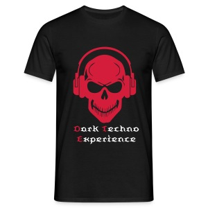 Dark Red Skull - Men's T-Shirt