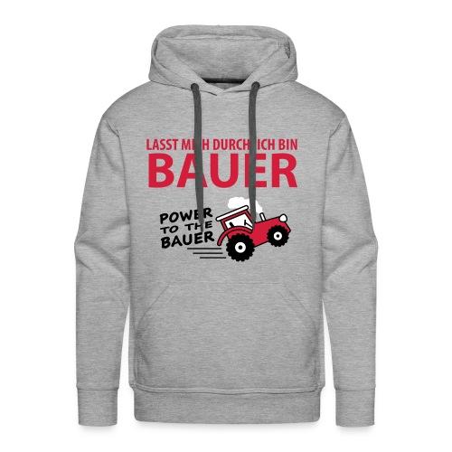 BAUER PULLOVER - Männer Premium Hoodie