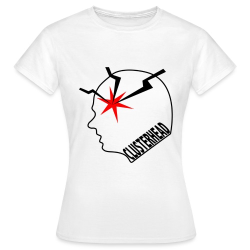 White clusterhead t-shirt for women - Women's T-Shirt