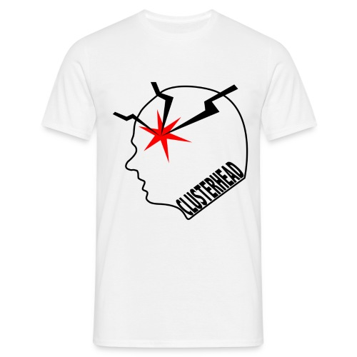 White clusterhead t-shirt for men - Men's T-Shirt