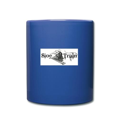 Sloe Train Mug - Blue - Full Colour Mug