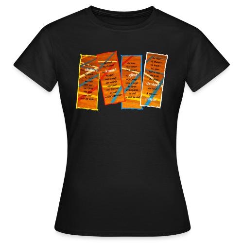 Ode aan de Vloer - Vrouwen T-shirt
