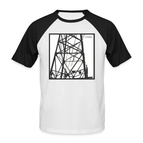 pylonesque shirt - Men's Baseball T-Shirt