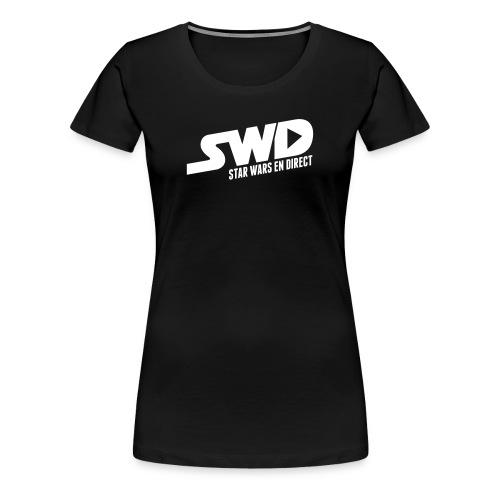 T-Shirt SWD Classique (pour femme) - T-shirt Premium Femme