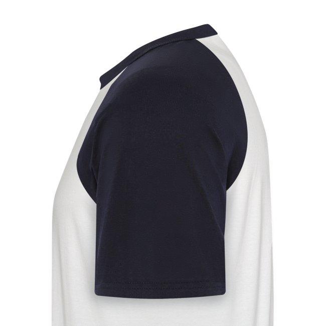 Zombieshit Shirt marineblau weiß