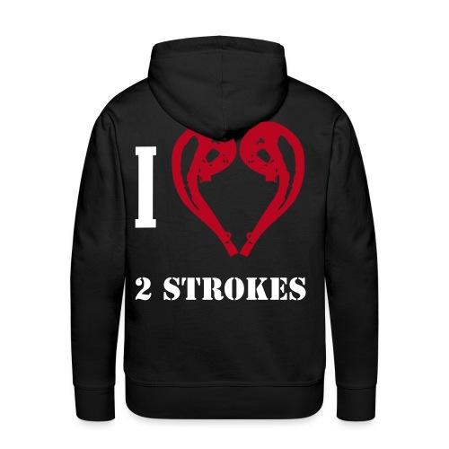 I love 2Strokes - Männer Premium Hoodie