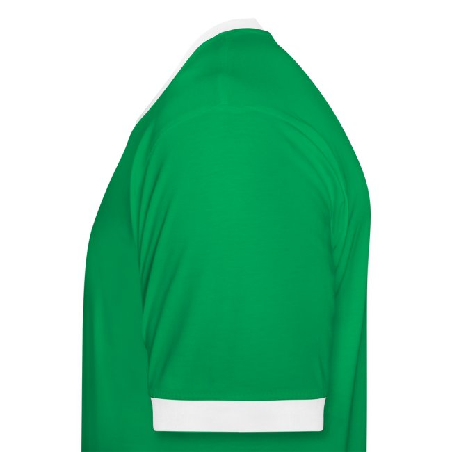 Verde chico con bordes blancos
