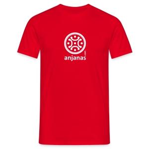 Camiseta de chico en rojo con logo blanco. - Camiseta hombre
