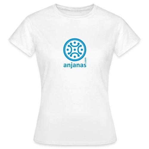 Básica chica logo azul - Camiseta mujer