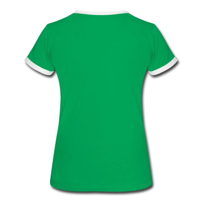 Chica verde bordes blancos