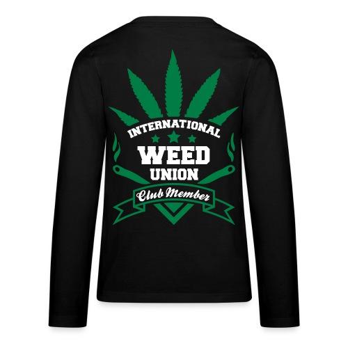 International Weed Sweater - Teenager Premium Langarmshirt