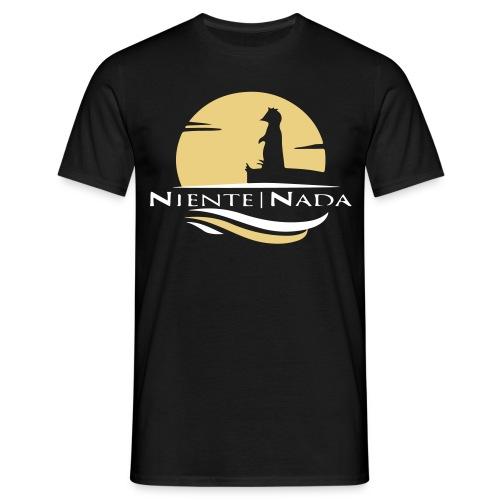 Niente Nada Logo! - Männer T-Shirt
