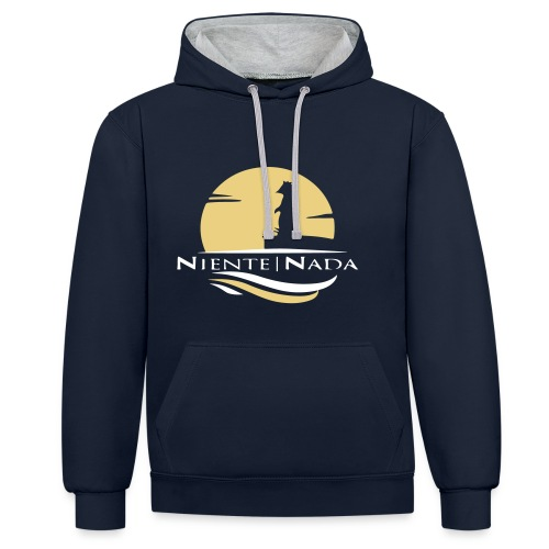 Niente Nada Logo (speciale) - Kontrast-Hoodie