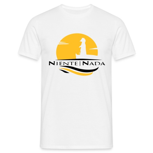 Niente Nada Logo (magharita) - Männer T-Shirt