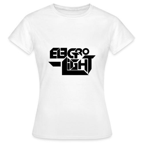 Electro-Light Womens T-Shirt Black Logo - Women's T-Shirt