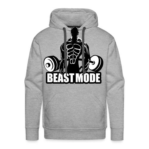 Beast Mode Hoddie - Männer Premium Hoodie