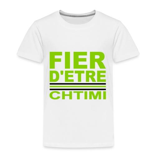 Tee shirt enfant  fier d'étre CHTIMI - T-shirt Premium Enfant