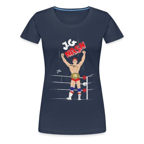 JG Nash - Old School - Womens - Women's Premium T-Shirt