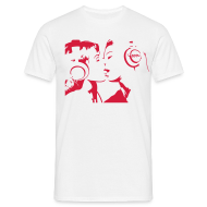 T-Shirts ~ Männer T-Shirt ~ The Kissing Headphone Girls
