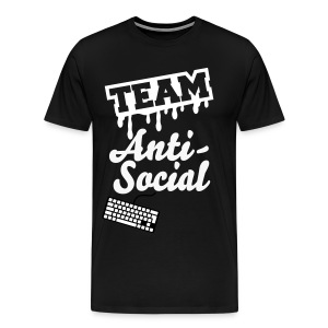 Anti-Social Squad Tee  - Men's Premium T-Shirt
