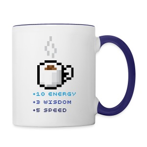 Caffeine Power Up Mug - Contrasting Mug