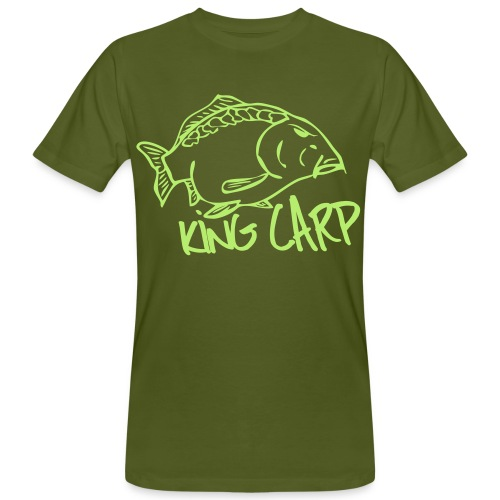 Men's Organic T-Shirt - fishing t-shirt,fishing,carphunter,carpcatcher,carp tackle,carp t-shirt,carp fishing,carp,big carp