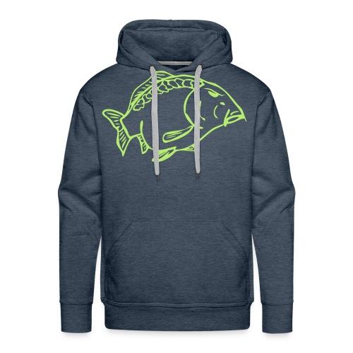 Männer Premium Hoodie - karpfenjäger,karpfenfischen,karpfenbekleidung,karpfen,carpmaster,carphunter,carp t-shirt,carp,angeln