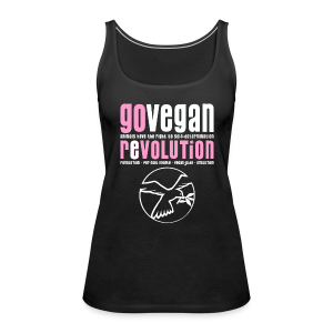 GO VEGAN REVOLUTION - Frauen Premium Tank Top