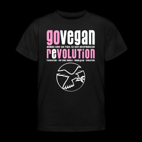 GO VEGAN REVOLUTION - Kinder T-Shirt