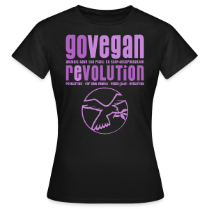 GO VEGAN REVOLUTION - Frauen T-Shirt