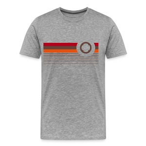 Retro chest ring T-Shirts - Men's Premium T-Shirt