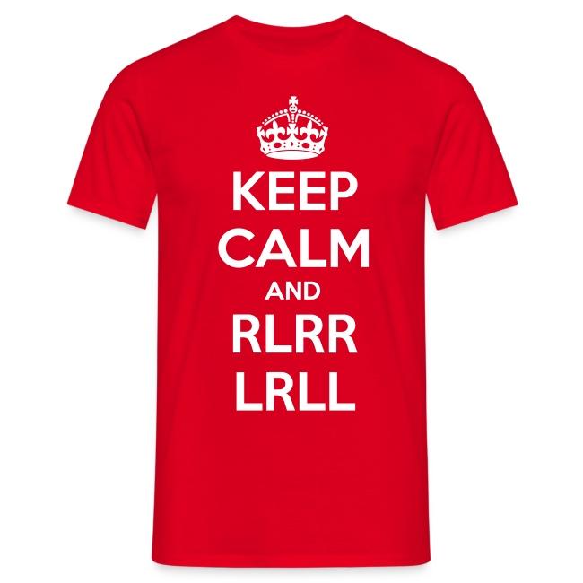 Keep calm and paradiddle! Shirt (Herren)