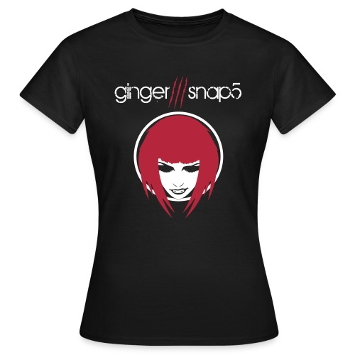 Women's T-Shirt - black,boy,dark,ginger snap5,gingersnap5,gs5,men