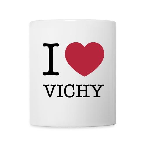 Mug I love Vichy - Mug blanc