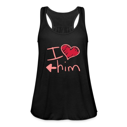 Top Donna I LOVE HIM - Top da donna della marca Bella