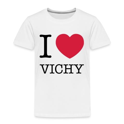 Tee-shirt enfant I love Vichy - T-shirt Premium Enfant