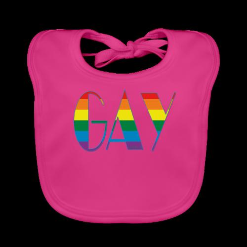 GAY - Baby Bio-Lätzchen